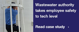 Wastewater authority takes employee safety to tech level