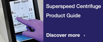 Superspeed Centrifuge Product Guide